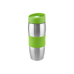 Wellgro Thermobecher Thermobecher 380 ml - Edelstahl - BPA-frei - Isolierbecher - Kaffeebecher, Thermosflasche, Farbe wählbar