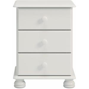 Home affaire Kommode Richmond, mit 3 Schubladen, Breite 44 cm weiß