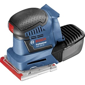 Bosch Professional GSS 18V-10 06019D0200 Akku-Schwingschleifer ohne Akku 18V 101 x 113mm