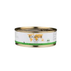 BIOPUR  Bio Huhn & Reis  Glutenfrei Katzen Nassfutter