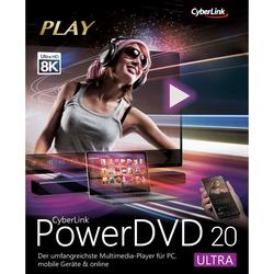CyberLink, Diverse Software (Download), PowerDVD 20 Ultra (Download)