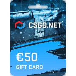 CSGO.net Gift Card 50 EUR