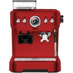 Trisa Barista Plus Kaffeemaschine Rot mit Mahlwerk