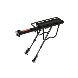 HOMCOM Fahrrad-Gepäckträger Fahrrad Gepäckträger mit rückwärtigem Reflektor