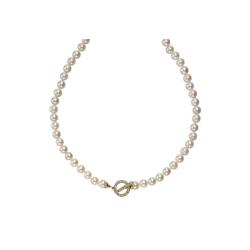 Diamonds by Ellen K. Collier 585/- Gelbgold Perlen weiß