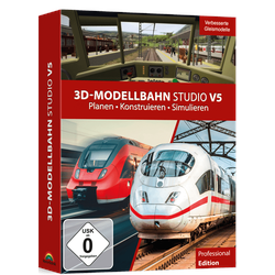 3D-Modellbahn Studio V5