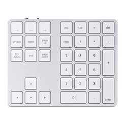 Satechi Extended Wireless Keypad silber