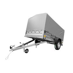 PKW-Anhänger 236x125 Garden Trailer 236 mit Stützrad, Hochplane und Hochspriegel
