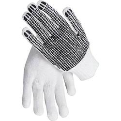 texxor Strickhandschuh ,einseitig genoppt, PES, Gr. 11
