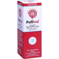 Pollival 0.5mg/ml Augentropfen Lösung
