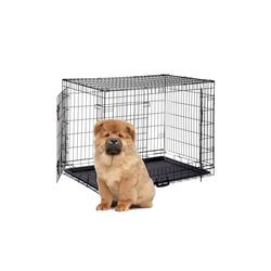 relaxdays Hundekäfig Faltbarer Hundekäfig Größe S-XXXL 107.5 cm x 71 cm x 80 cm