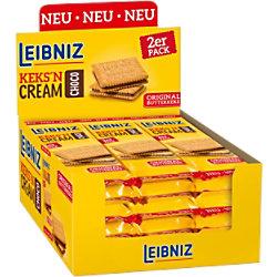 Leibniz Kekse Keks'n Cream Choco 18 Stück à 38 g