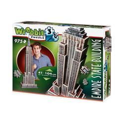 Wrebbit 3D-Puzzle Wrebbit 3D Puzzle 975 Teile Empire State Building, Puzzleteile