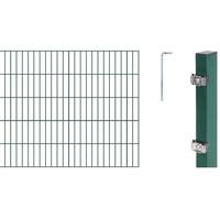 GAH ALBERTS Komplettset Doppelstabmatten 10 m, 1000 mm hoch, grün