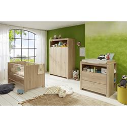 ebuy24 Jugendzimmer-Set Olja Kindermöbelset, Kinderbett und Wickelkommode