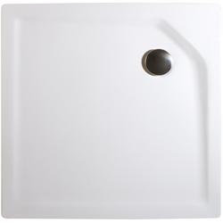 Schulte Eckduschwanne Extraflach, quadratisch, Sanitäracryl, BxT: 80 x 80 cm