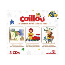 Caillou Hörspiel CD Caillou Hörspielbox 6 (CD 16-18)(3 CDs)