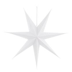 dio Only for You. Lampion, aus Papier, in Sternform, Ø ca. 60 cm, mit ausgestanzten Verzierungen