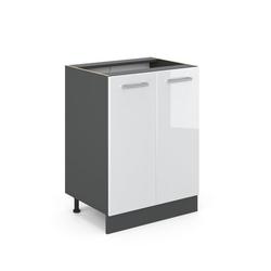 Vicco Unterschrank Küchenschrank 60 cm R-Line Anthrazit