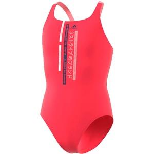 adidas Kinder Badeanzug YA Swim Suit, Rosbas/Indtec, 152 (11/12 años), FL8661