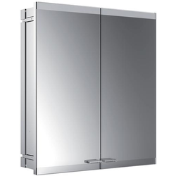 EMCO Lichtspiegelschrank evo ASIS Unterputz, 600 x 700 mm, 2-türig ohne LS, ohne SH