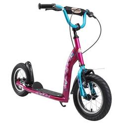 bikestar Kinderroller 12 Sport, berry/türkis