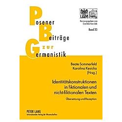 Identitätskonstruktionen in fiktionalen und nicht-fiktionalen Texten - Buch
