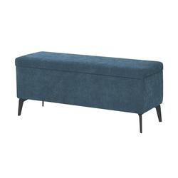 Wohnwert Bettbank mit Stauraum Dormian ¦ blau