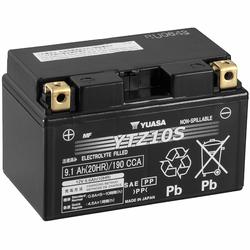 YUASA AGM YTZ10S 9,1Ah Motorradbatterie 12V (DIN 50922)