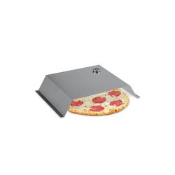 relaxdays Pizzaofen-Grillaufsatz BBQ Pizzaaufsatz Edelstahl, Edelstahl
