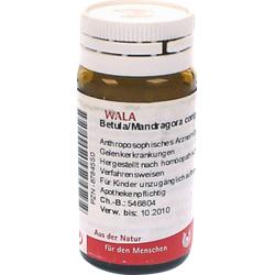 BETULA/MANDRAGORA comp.Globuli 20 g