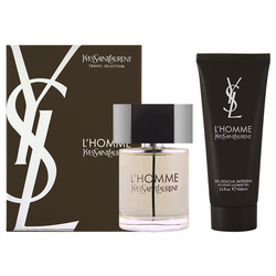 Yves Saint Laurent L`Homme EDT Geschenkset  EDT 100 + 50 ml Aftershave Balm + 50 ml Duschgel