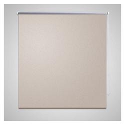 Rollo Verdunkelungsrollo beige, vidaXL 120 cm