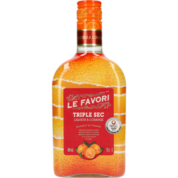 Le Favori Triple Sec 40% 0,7 ltr.