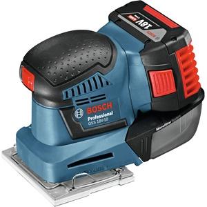 Bosch Blau Professional GSS 18V-10 Akku-Schwingschleifer Solo ohne Akku - in L-BOXX - 06019D0202