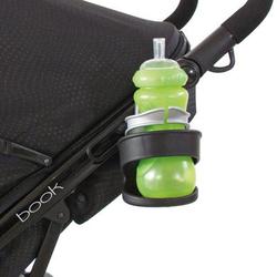 Peg Perego Flaschenhalter für Kinderwagen und Buggys Schwarz/Silber