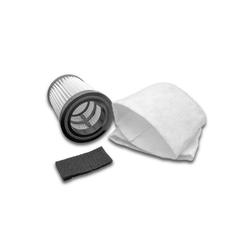 AccuCell Staubsaugerrohr Staubsaugerfilter Set für Staubsauger wie Dirt Dev