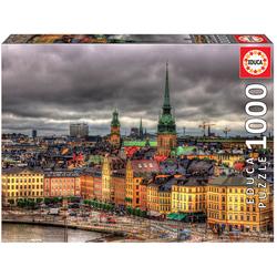 Educa Puzzle. Views of Stockholm 1000 Teile
