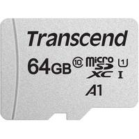 Transcend microSDXC 64GB Class 10 300S UHS-I + SD-Adapter