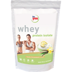 FOR YOU whey protein isolate recovery Vanille-Zit. 840 g