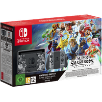 Nintendo Switch - Super Smash Bros. Ultimate Edition (Bundle)