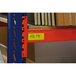 Magnetstreifen, 30 x 600 mm, weiß, 10 stk.