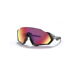 Oakley Sonnenbrille - Flight Jacket - Matte Black - Prizm Road Brillenfassung - Sportbrillen,