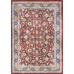 Teppich Keshan Maschad, ELLE Decor, rechteckig, Höhe 5 mm, Orient-Optik rot 120 cm x 160 cm x 5 mm