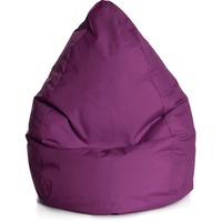 Sitting Point BeanBag Brava aubergine 70x90 cm