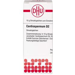 CARDIOSPERMUM D 2 Globuli 10 g
