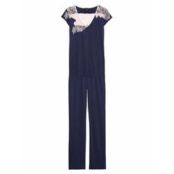 Le chat Pyjama Cipriani 102 (2 tlg) blau 44