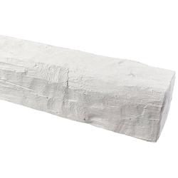 HOMESTAR Dekorpaneele 9 x 6 cm, Länge 2 m, Holzimitat, weiß weiß