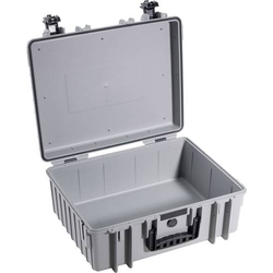 B & W Outdoor Koffer outdoor.cases Typ 6000 32.6l (B x H x T) 510 x 420 x 215mm Grau 6000/G/SI