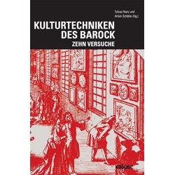 Kulturtechniken des Barock als Buch von
